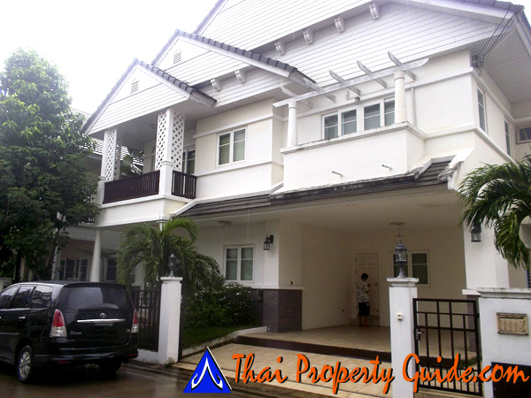 House for rent in Pattanakarn